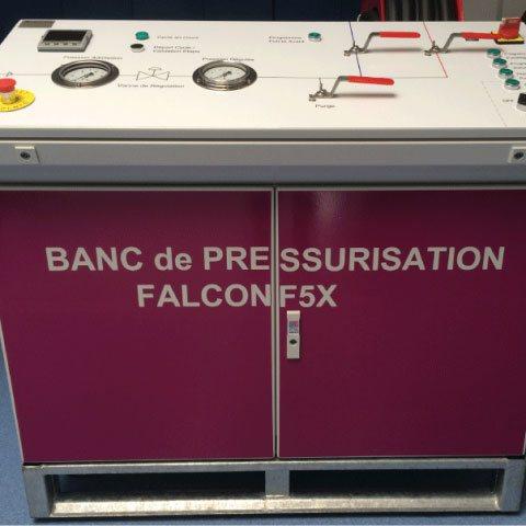Pressurisation de réservoirs