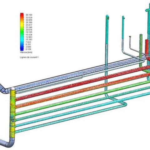 simulateur eau de refroidissement